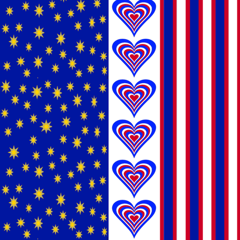 MyFlagJpg2 fabric by grannynan on Spoonflower - custom fabric