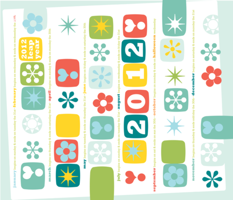 teatowel2012 fabric by zoliepress on Spoonflower - custom fabric