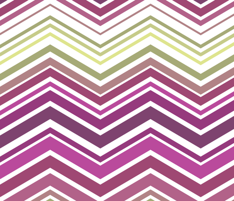 zig zag mulberry fabric by littlerhodydesign on Spoonflower - custom fabric