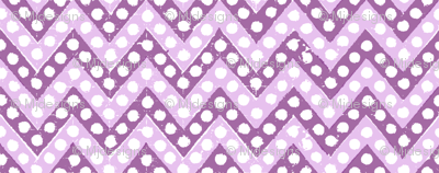 Small Zig Zag / Purple & Lilac