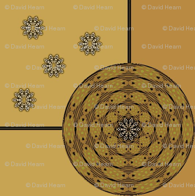 Harvest Wheel (Ochre)