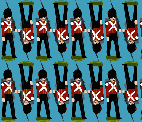 toy soldier fabric by scrummy on Spoonflower - custom fabric