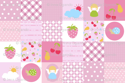 Baby patchwork pattern