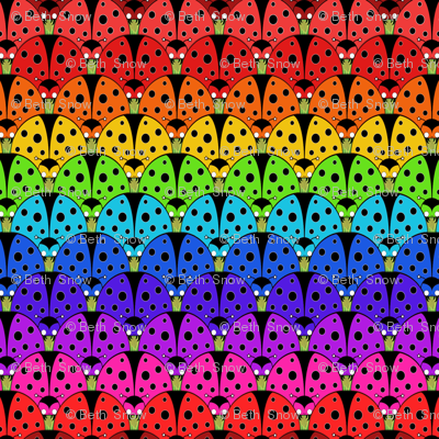 Ladybird Rainbow