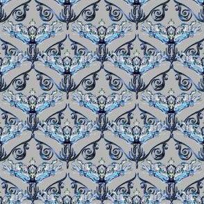 Nouveau antique blue