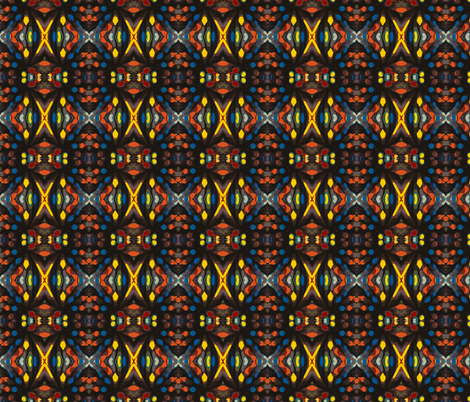 Crayons fabric by relative_of_otis on Spoonflower - custom fabric