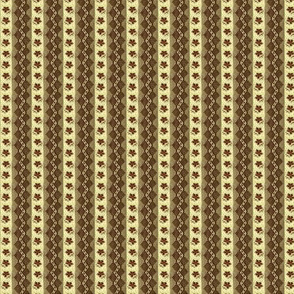 Smaller version Brown zig-zag