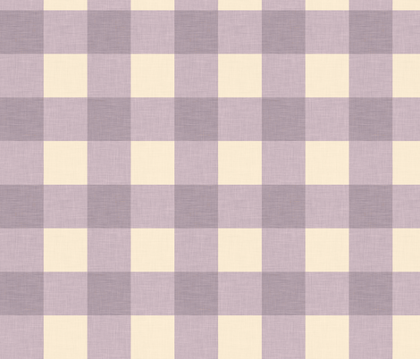 gingham_lavender fabric by holli_zollinger on Spoonflower - custom fabric