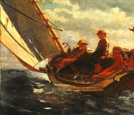 Breezing Up (A Fair Wind) - 1876 - Winslow Homer