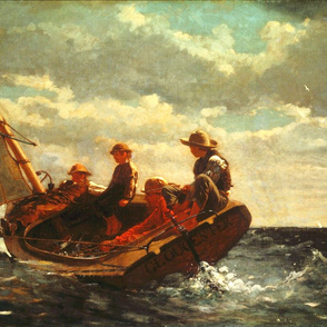 Breezing Up (A Fair Wind) - 1876 - Winslow Homer