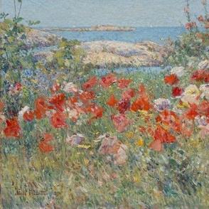 Celia Thaxter's Garden - 1890 - Childe Hassam
