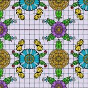 Tiled Garden - #3