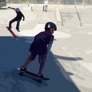 Afternoon at the Skateboard Park