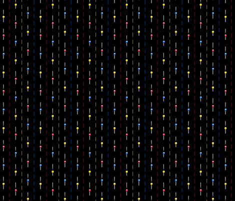 pinstripe fabric by glimmericks on Spoonflower - custom fabric