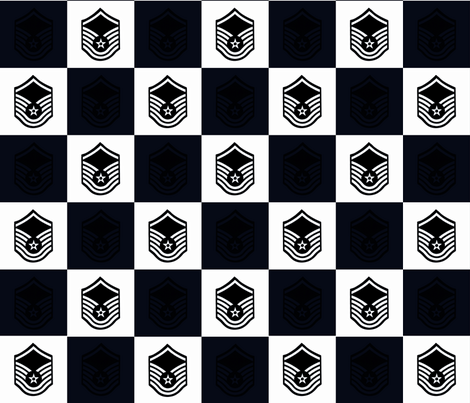 My Master Sergeant in USAF fabric by tracydb70 on Spoonflower - custom fabric