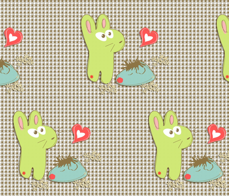 love love fabric by kato_kato on Spoonflower - custom fabric