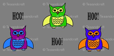 Hoo!? Owls!