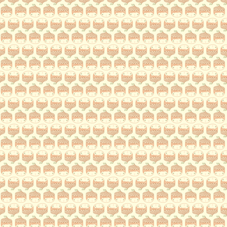 Acorn Cap fabric by beeskneesindustries on Spoonflower - custom fabric