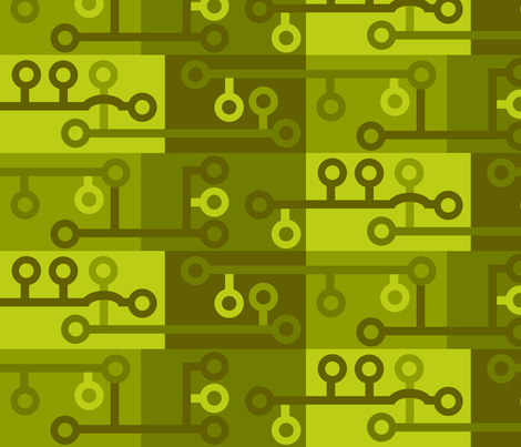 Camo Circuit 010 fabric by lowa84 on Spoonflower - custom fabric