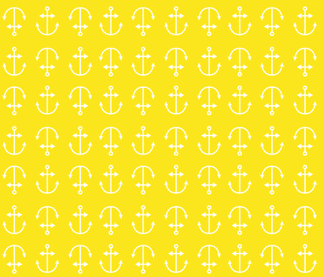 anchor down fabric by annaboo on Spoonflower - custom fabric