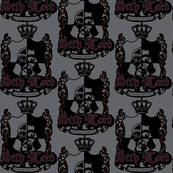 Sith Lord Crest - Grey