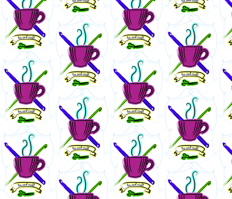 Tea and Craft fabric by teaandcraft on Spoonflower - custom fabric