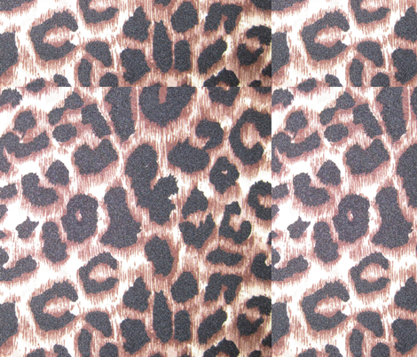Leopard Print fabric by peacefuldreams on Spoonflower - custom fabric