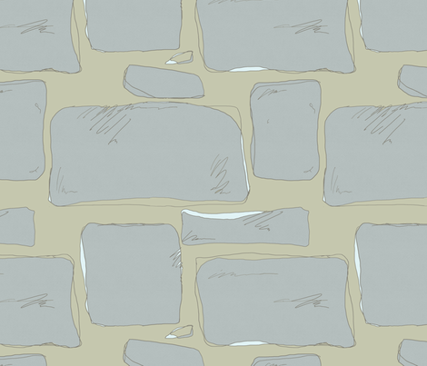 Lacosted Stones fabric by jennjersnap on Spoonflower - custom fabric