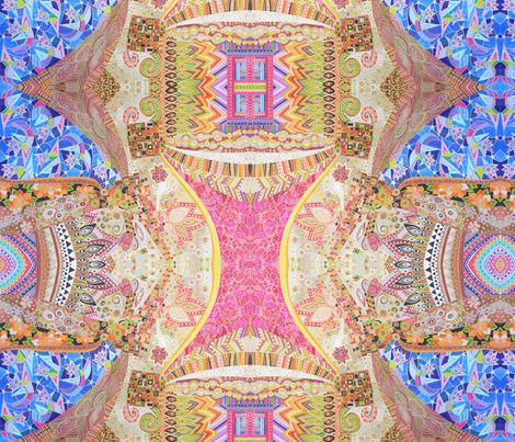 Pajaros Salvajes fabric by lita_blanc on Spoonflower - custom fabric
