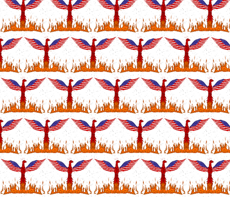 Rising fabric by ninjaauntsdesigns on Spoonflower - custom fabric