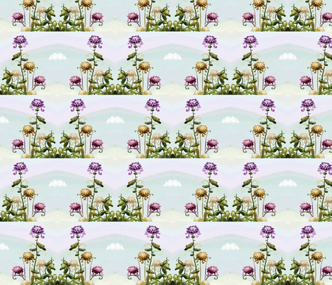 spring_flowers2 fabric by vinkeli on Spoonflower - custom fabric