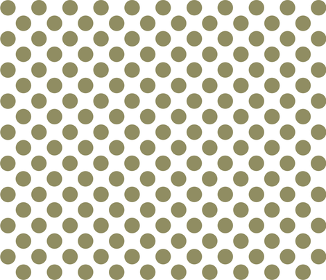 dot_12x12_Cedar fabric by curlywillowco on Spoonflower - custom fabric