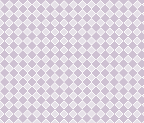 DblDiamond_OrchidHush fabric by curlywillowco on Spoonflower - custom fabric
