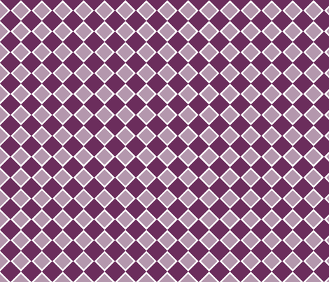 DblDiamond_Phlox fabric by curlywillowco on Spoonflower - custom fabric