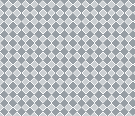 DblDiamond_Quarry fabric by curlywillowco on Spoonflower - custom fabric