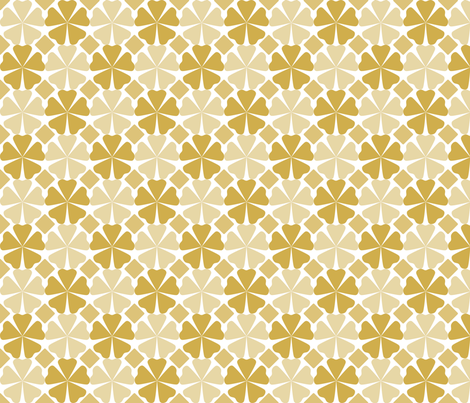 FloralPattern_Bamboo fabric by curlywillowco on Spoonflower - custom fabric