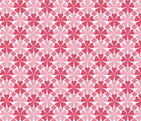 FloralPattern_Honeysuckle fabric by curlywillowco on Spoonflower - custom fabric