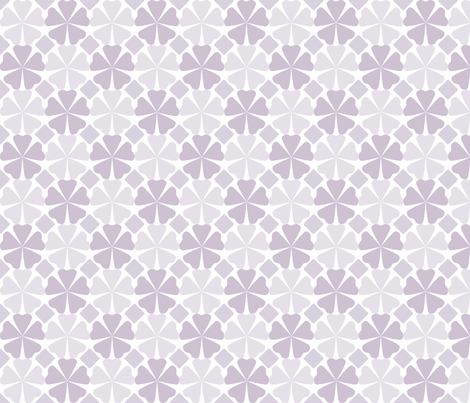 FloralPattern_OrchidHush fabric by curlywillowco on Spoonflower - custom fabric