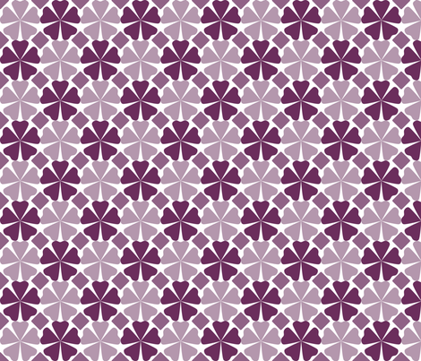FloralPattern_Phlox fabric by curlywillowco on Spoonflower - custom fabric