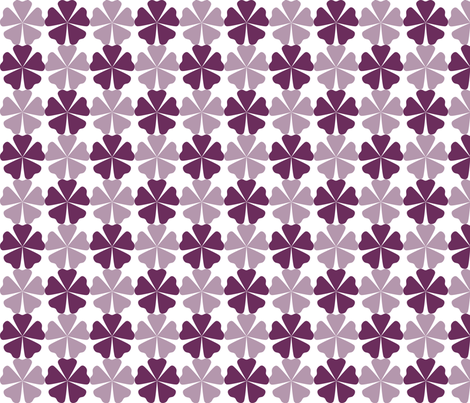 FullFlorals_Phlox fabric by curlywillowco on Spoonflower - custom fabric