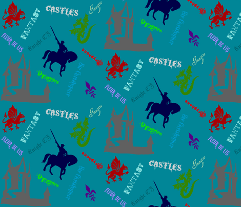 trishstuff's shape glyph fabric by trishstuff on Spoonflower - custom fabric