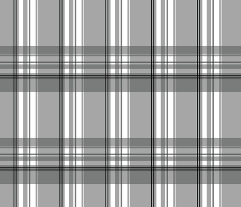Puzzle - Plaid fabric by studiofibonacci on Spoonflower - custom fabric