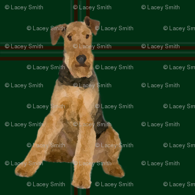 Airedale Plaid #2A