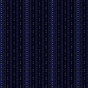 Zelda Sprite Pinstripes Black