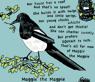 Maggie The Magpie