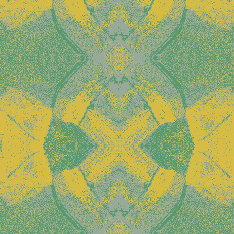 Bug Eyes Green and Yellow fabric by susaninparis on Spoonflower - custom fabric