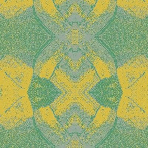Bug Eyes Green and Yellow