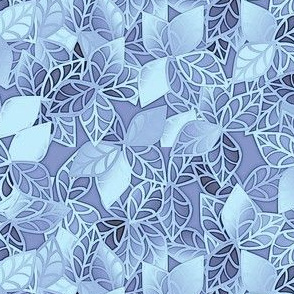 © 2011 Leaves of a Jungle in Blue