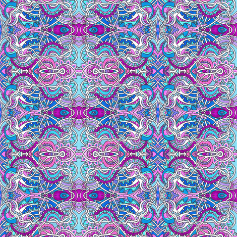 The Beating of Fairy Wings fabric by edsel2084 on Spoonflower - custom fabric