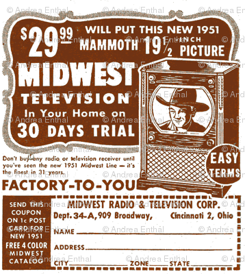 Nifty Fifties TV advertisement